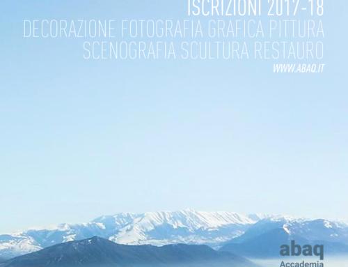 """""""Un Pomeriggio in Accademia"""", open day dell'Accademia di Belle Arti dell'Aquila"""