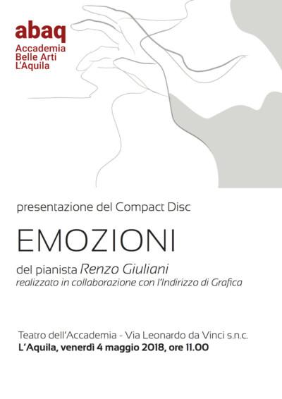 Locandina Presentazione Renzo Giuliani