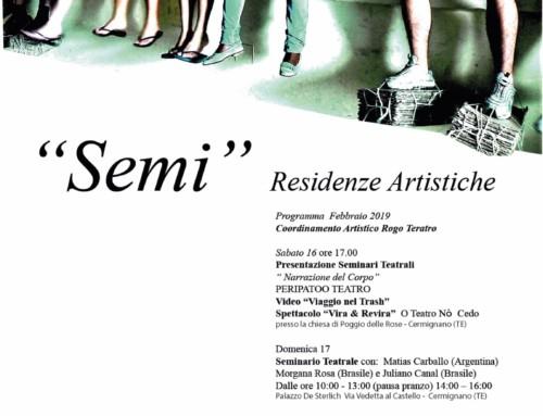 Semi – Residenze artistiche