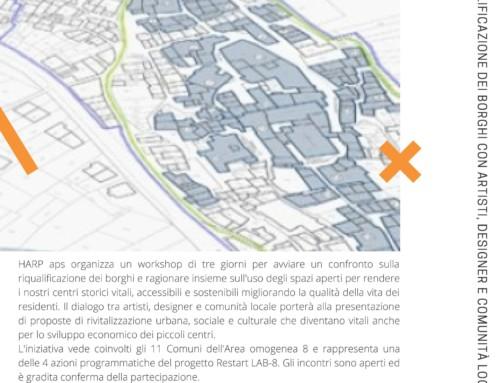 WORKSHOP SULLA RIQUALIFICAZIONE DEI BORGHI CON ARTISTI, DESIGNER E COMUNITÀ LOCALI