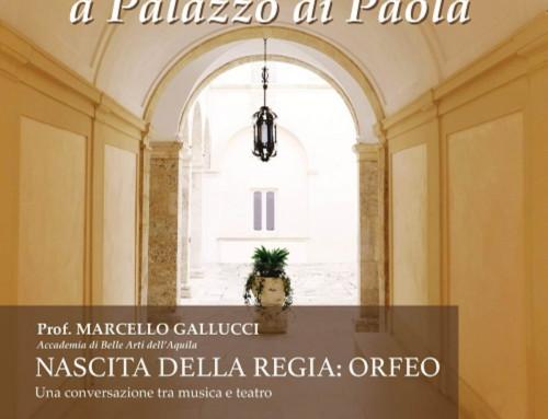 Conversazioni Conversazioni a Palazzo di Paola