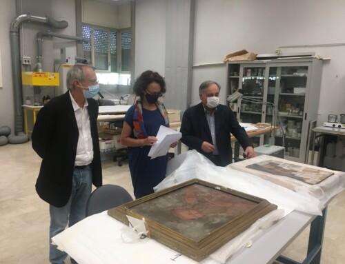 L'Accademia di Belle Arti dell'Aquila prepara in nuovo anno in presenza e presenta l'accordo di restauro per le opere d'arte danneggiate dal sisma del 2016