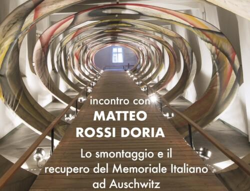 Giornata della memoria – Incontro con MATTEO ROSSI DORIA