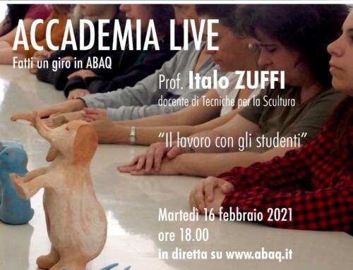 ABAQ Live – ITALO ZUFFI – Il lavoro con gli studenti