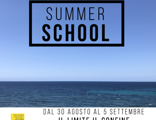 APERTE LE ISCRIZIONI ALLA SUMMER SCHOOL DELL'ABAQ ALL'EX MANIFATTURA TABACCHI DI CITTA' SANT'ANGELO (PE)